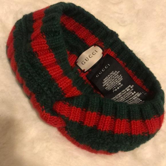 04730400c66 Gucci Accessories - Gucci Wool web headband